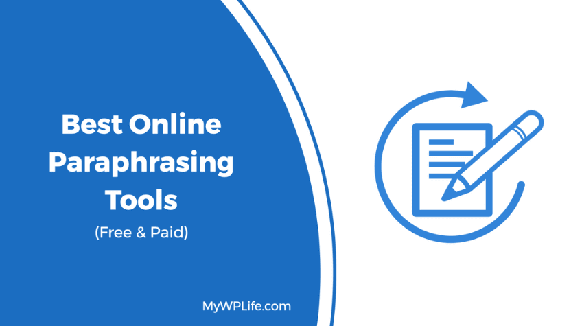7 Best Online Paraphrasing Tool Free Paid Mywplife Spin Box Paraphrase