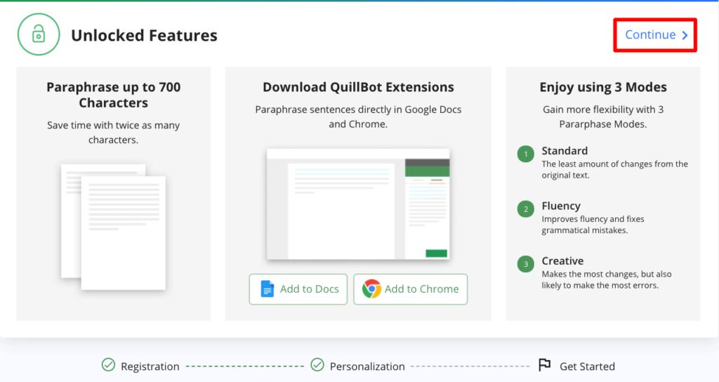 QuillBot - Unlocked Features